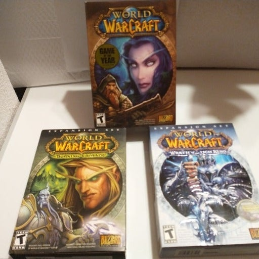 World of Warcraft, PC Games ( Lot of 3)