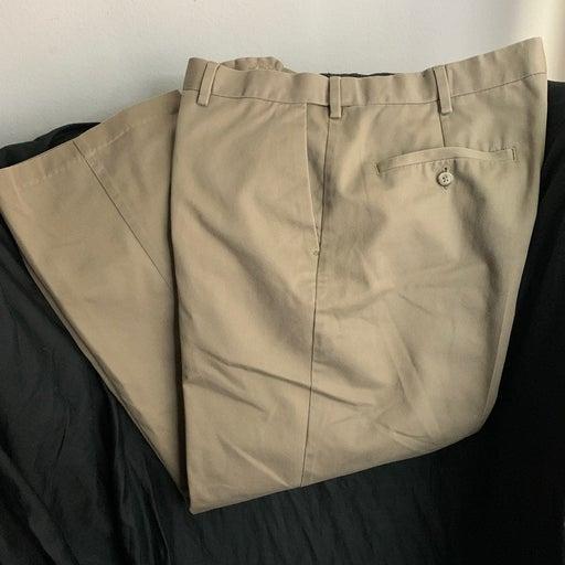 casual dress pants Size 36 X 30 beige  c