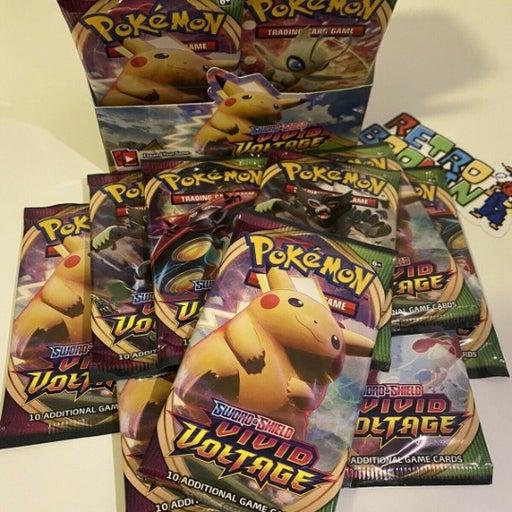 10x Vivid Voltage booster packs!