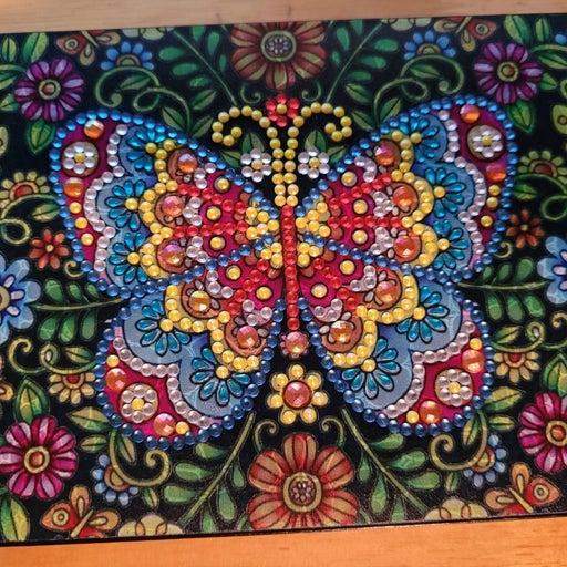 Diamond Painting Butterfly Jewerly Box