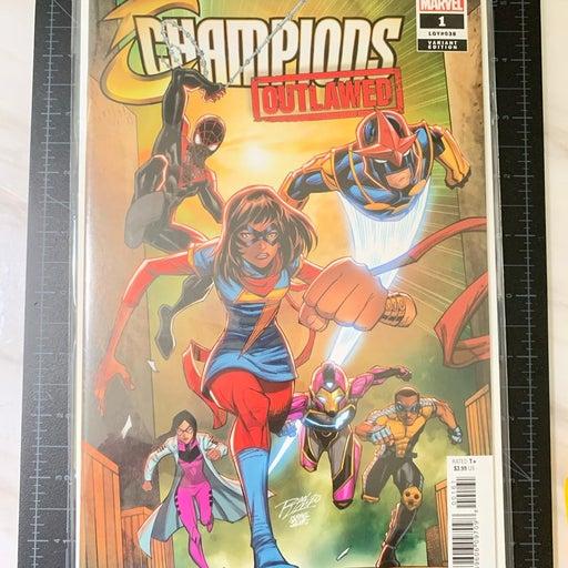 Marvel Champions comic