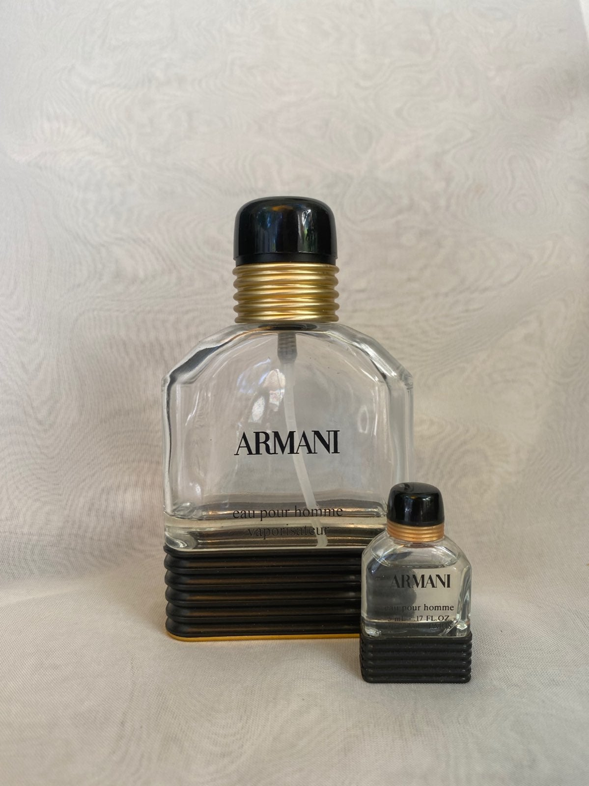 2 Vintage Armani Eau Pour Homme Colognes