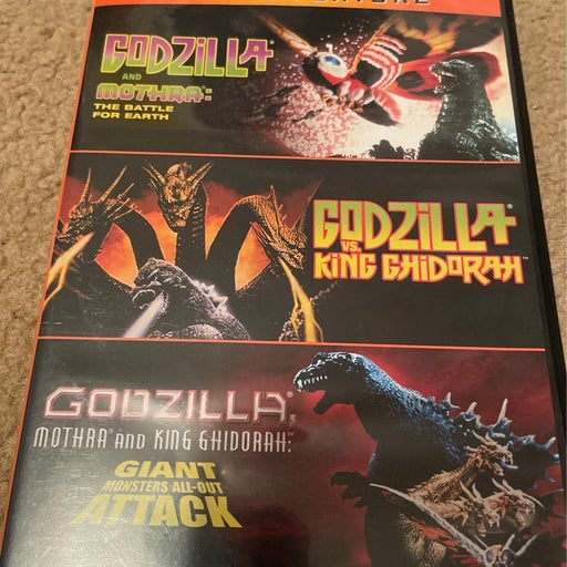 Godzilla triple feature DVD