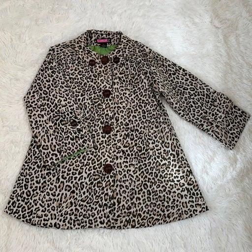 Say What ? Leopard Jacket (Size Medium)