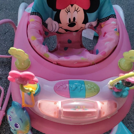 Minnie Baby walker with lights and music
