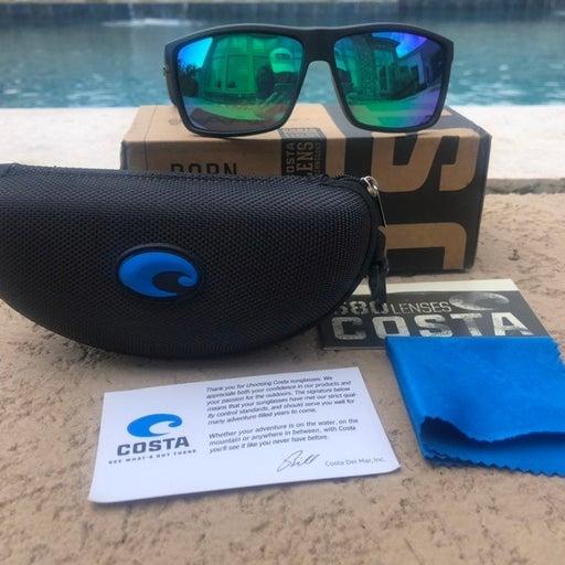 Costa Sunglasses Rinconcito Black Green
