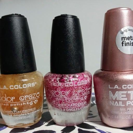 L.A. Color Nail Polish Trio