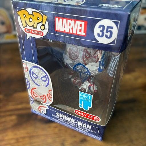 Spiderman Art Series Funko 35