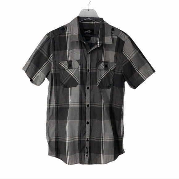 O'Neill Plaid Button Front Shirt