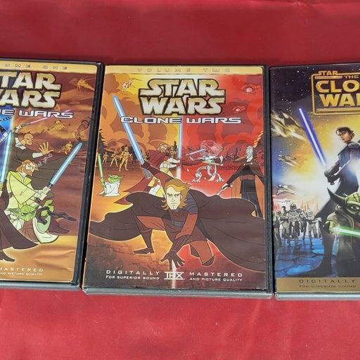 Star War The Clone Wars DVDs