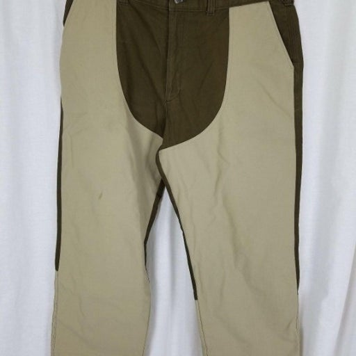 Vintage LL Bean Upland Briar Proof Game Hunting Work Pants Mens 32x27 Reinforced