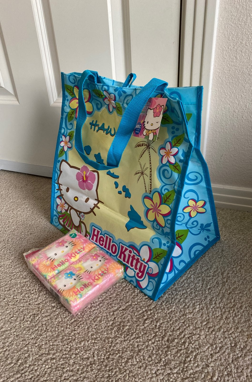 Hello kitty tote bag/New
