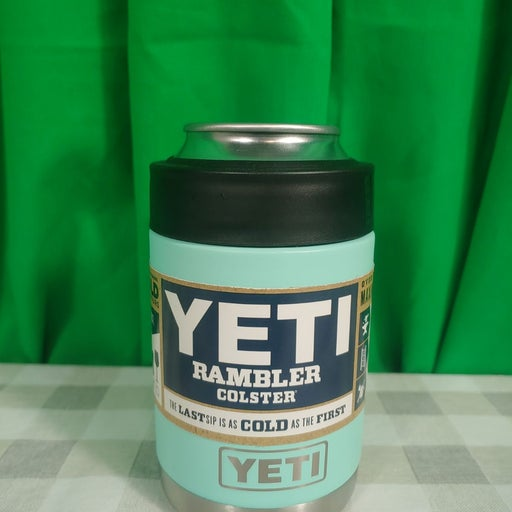 Teal Yeti Rambler Colster Coozie
