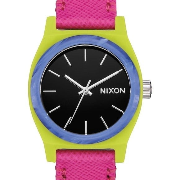 NEW Nixon Time Teller Watch Leather
