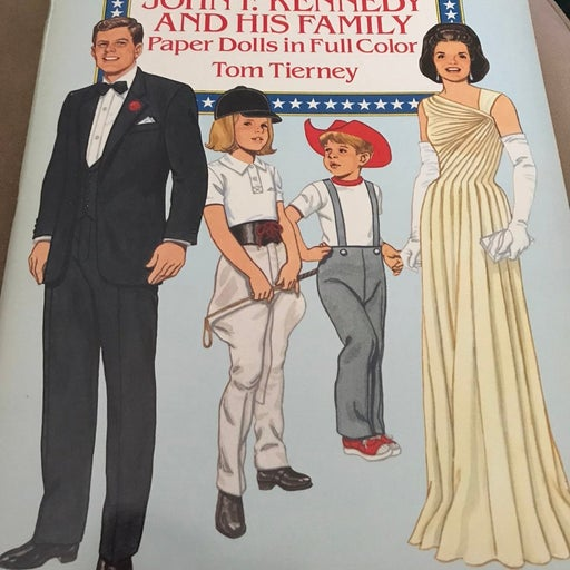 John F. Kennedy and His Family paper Dolls