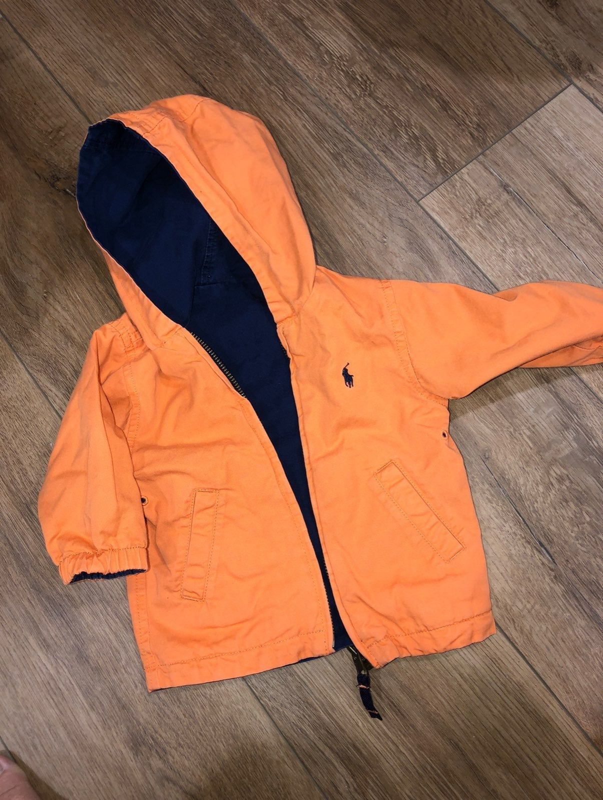 Polo jacket reversible baby boys 9 month