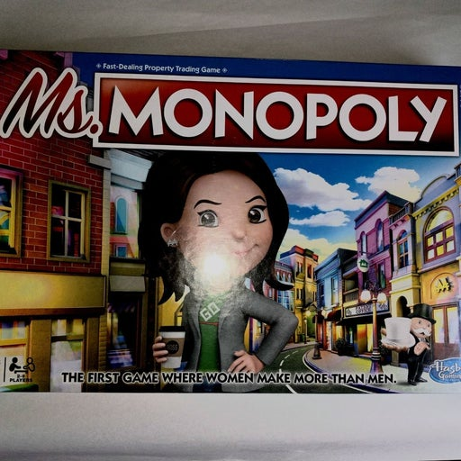 Ms Monopoly boardgame