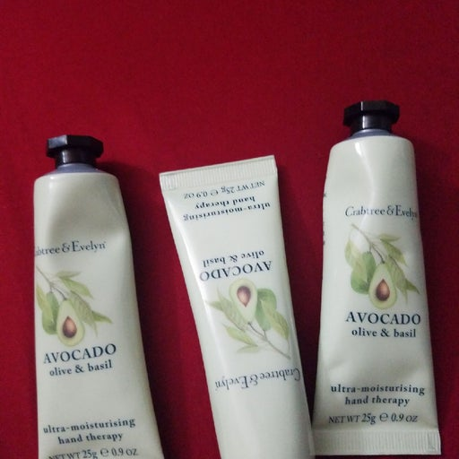 Crabtree & Evelyn avocado oil and basil