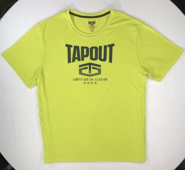 TAPOUT Mens Graphic Logo SS Tee 2XL
