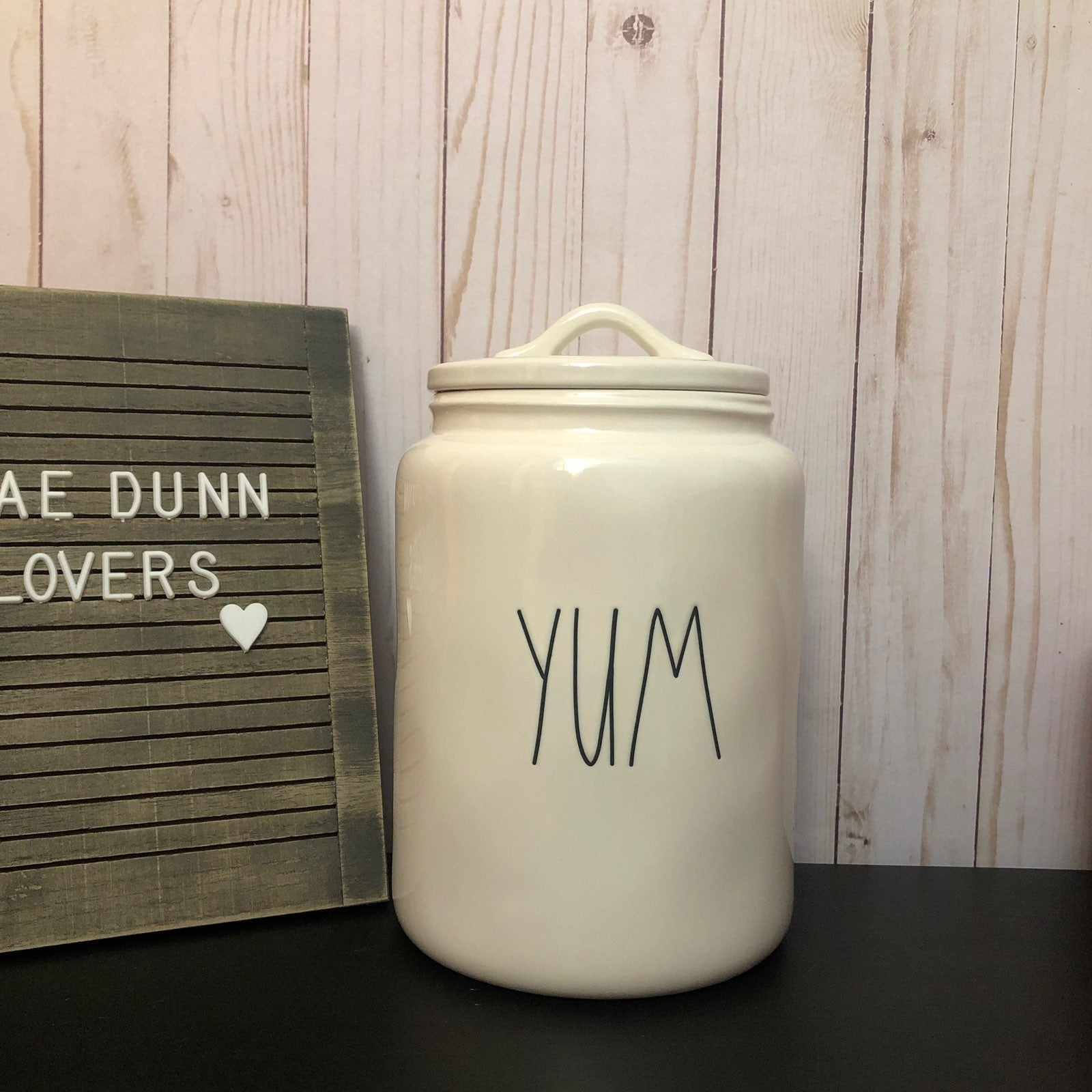 Rae Dunn YUM canister