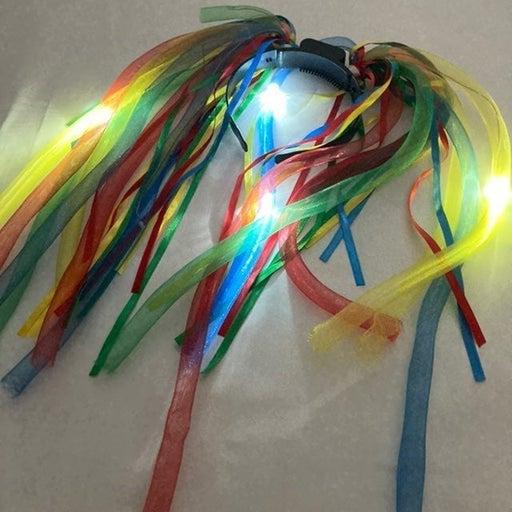 LED Noodle Headband - Multicolor