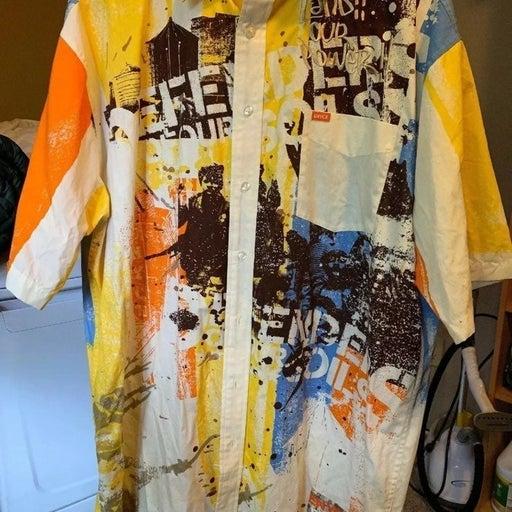Enyce Mens Urban Button-down Shirt