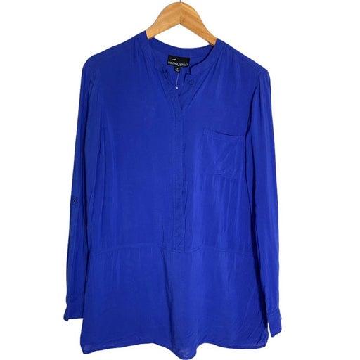 Cynthia Rowley Royal blue shirt size small