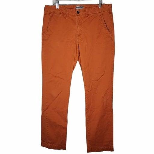 Express Orange Photographer straight leg 33X32