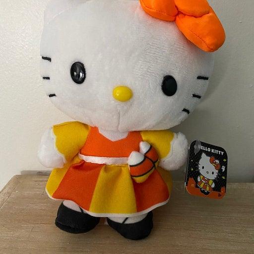 Hello Kitty Halloween Candy Corn Plush
