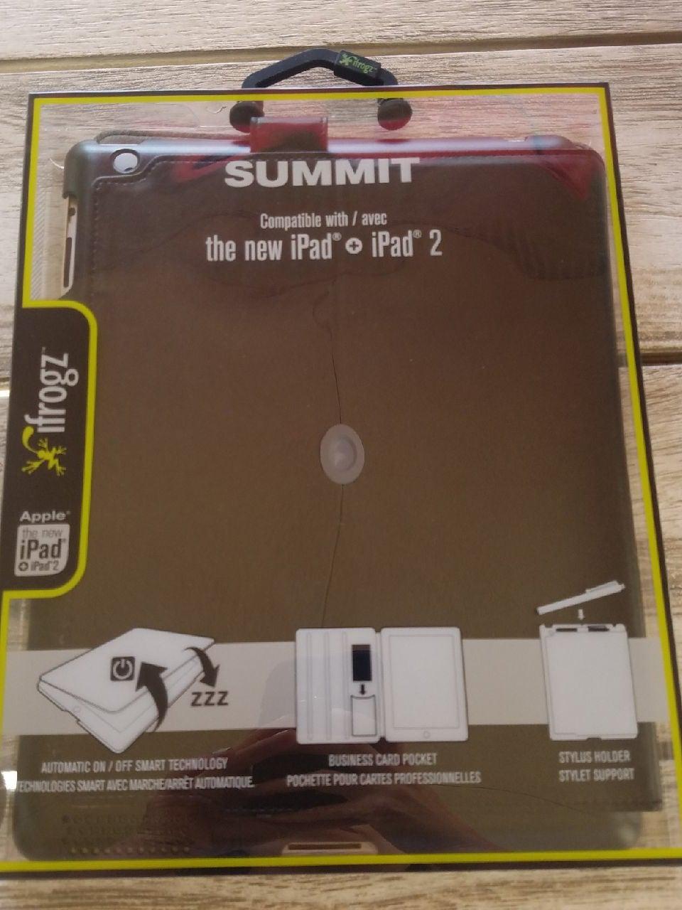 Summit Ifrogz iPad + 2 case black