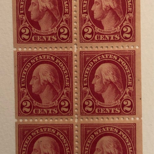 US postage Stamps (Scott #583a) (6 stamps)