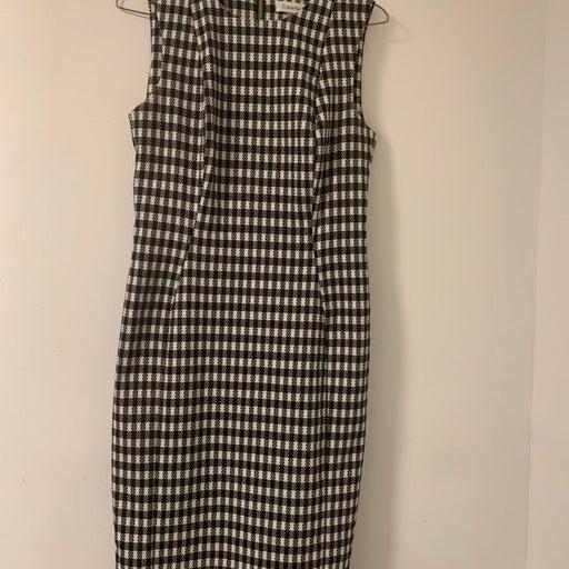 Calvin Klein Houndstooth Dress
