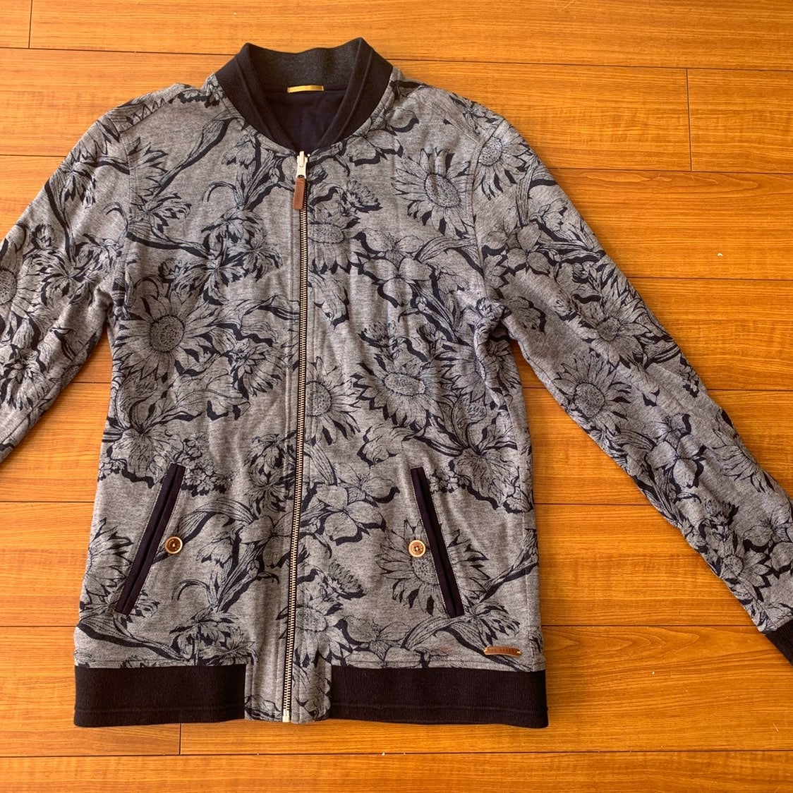 Ted Baker Floral Sweat Bomber