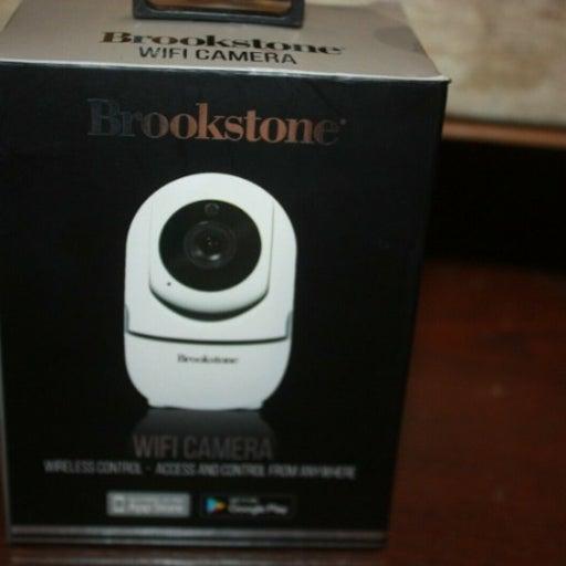 BrookStone WIFI Camera w/ APP Access & C