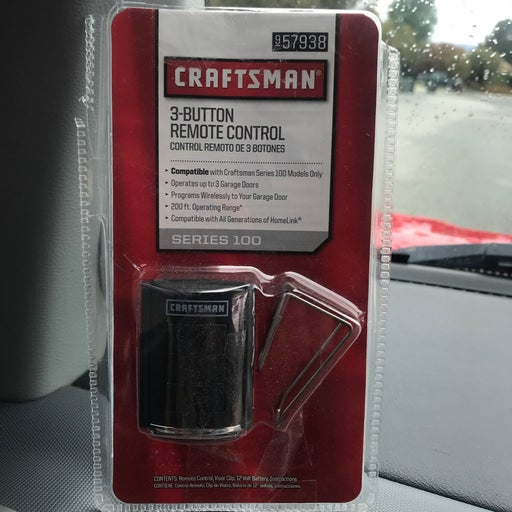 Craftsman universal remote