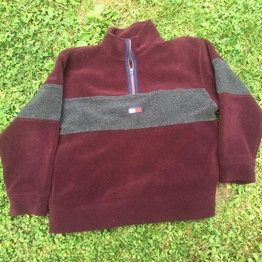 Vintage Tommy Hilfiger Fleece 1/4 Zip Pullover