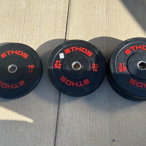 Ethos Bumper Plate Sets 10-25