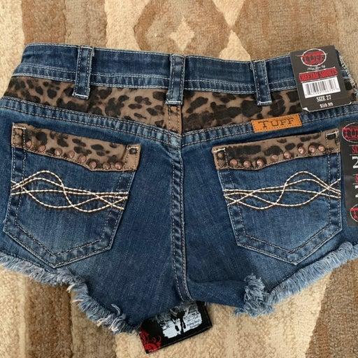 Cowgirl Tuff Jean Shorts