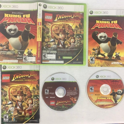Xbox 360 Indiana Jones & Kung Fu Panda