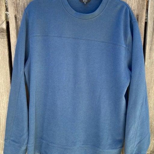 Men's DKNY Blue Sweatshirt- Large- Every
