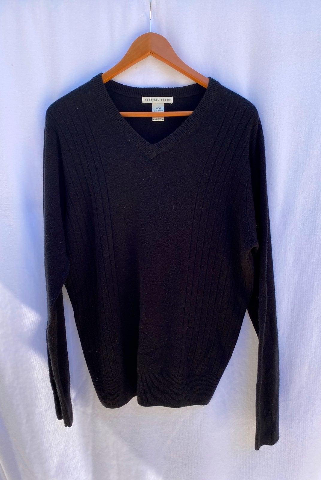 Geoffrey Beene V Neck Sweater
