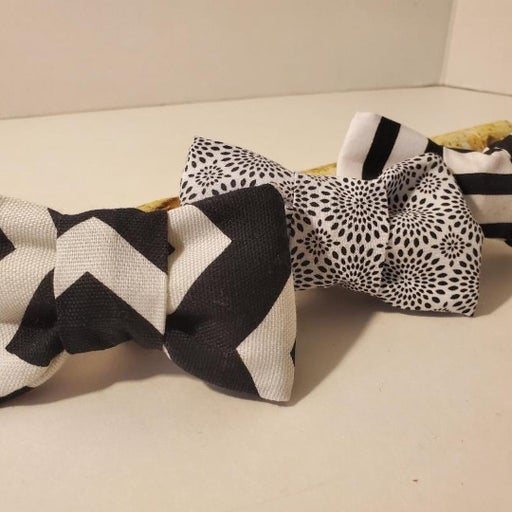 Fancy, Small Dog/Cat Bowties, 3 Pack