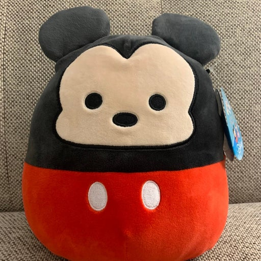 """Squishmallow """"MICKEY MOUSE"""" 8"""" STUFFED A"""