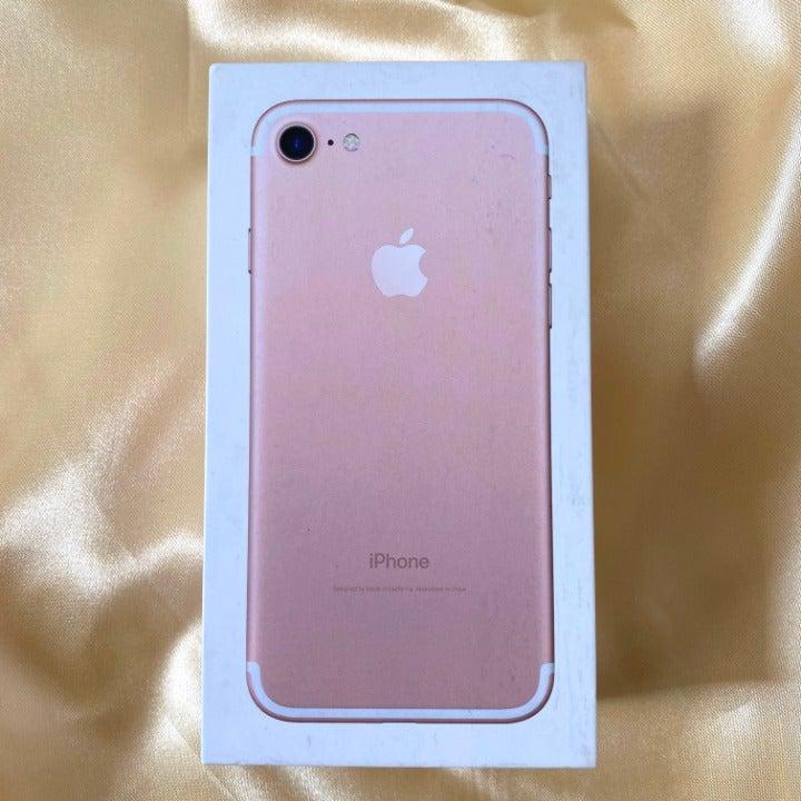 EMPTY iPhone 7 Rose Gold Original Box
