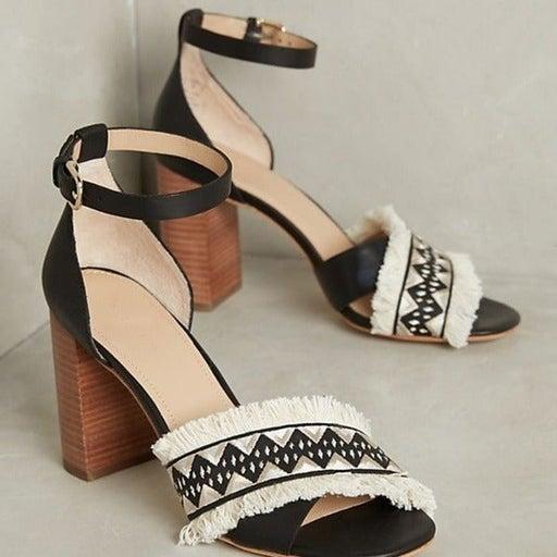 Pour La Victoire Havana Fringe sandals