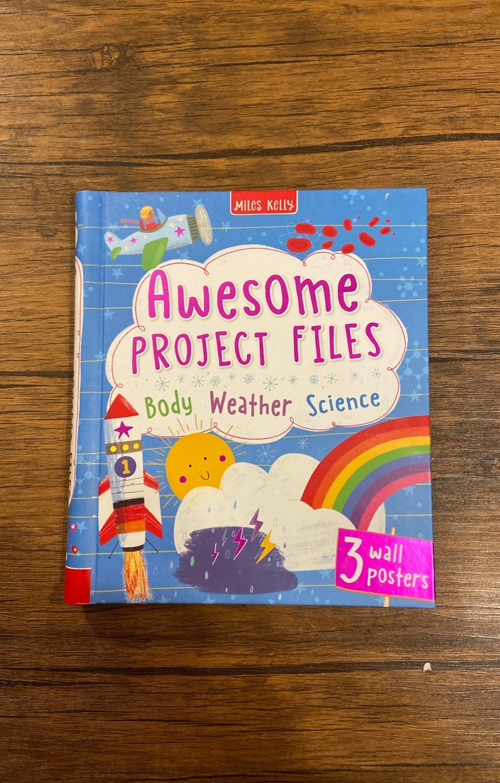 BODY WEATHER SCIENCE PROJECT BOOK