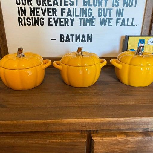 Crofton Pumpkin Mini Casserole Dishes