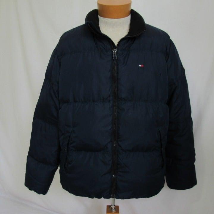 Tommy Hilfiger Blue Down Puffer Coat XL