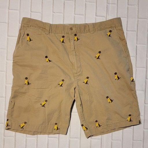 Cremieux Madison Khaki shorts 36 labs