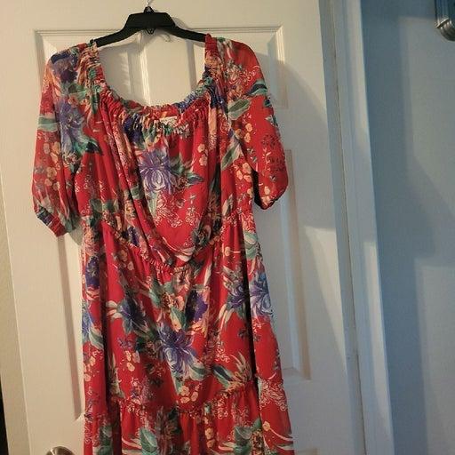 Beautiful High Low Dress 2X